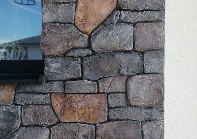 imitácia kamenného obkladu na terasu,3D steny a imitácia kameňov, 22design.sk , dekoratívne úpravy povrchu stien, luxusné omietky, umelecké steny